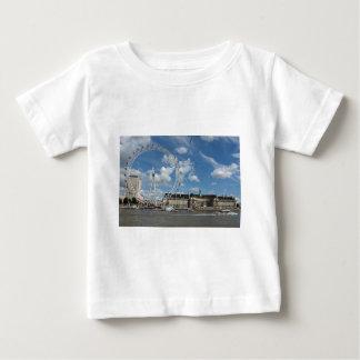 ロンドンの目 ベビーTシャツ