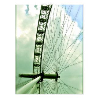 ロンドンの目 ポストカード