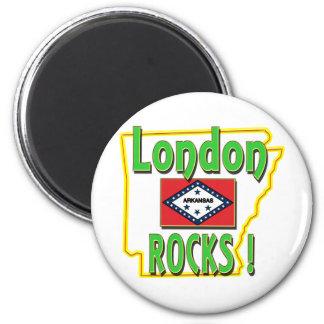ロンドンの石! (緑) マグネット