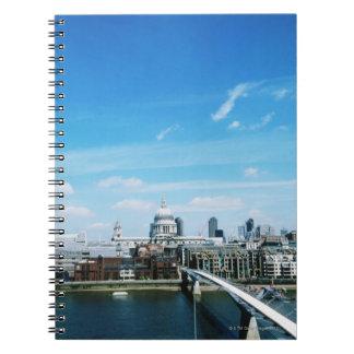 ロンドンの空中写真 ノートブック