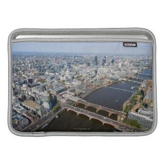 ロンドンの空中写真 MacBook スリーブ