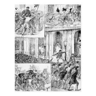 ロンドンの素晴らしい暴動 ポストカード