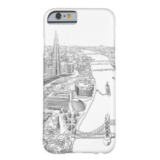 ロンドンの絵 BARELY THERE iPhone 6 ケース