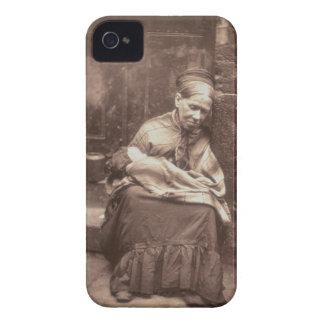 「ロンドンの街の生活」からのクローラー、1877-7年 Case-Mate iPhone 4 ケース