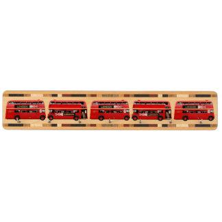 ロンドンの赤いバス カエデ キーフック