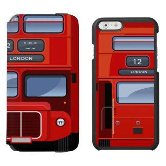 ロンドンの赤い二重デッカーバス INCIPIO WATSON™ iPhone 5 財布型ケース