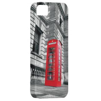 ロンドンの赤い公衆電話ボックスのiPhone 5の箱 iPhone 5 ケース