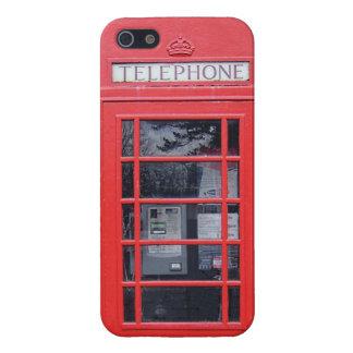 ロンドンの赤い電話ボックス iPhone 5 COVER