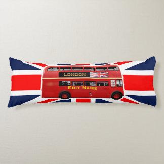 ロンドンの赤バス ボディピロー
