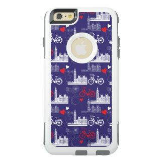 ロンドンの陸標パターン オッターボックスiPhone 6/6S PLUSケース