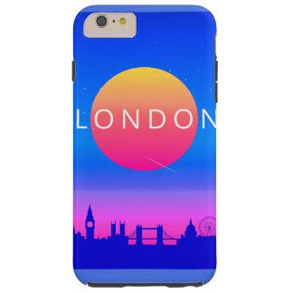 ロンドンの陸標旅行ポスター TOUGH iPhone 6 PLUS ケース
