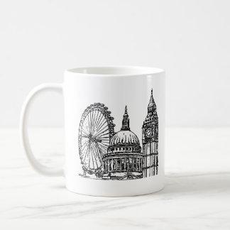 ロンドンの陸標 コーヒーマグカップ