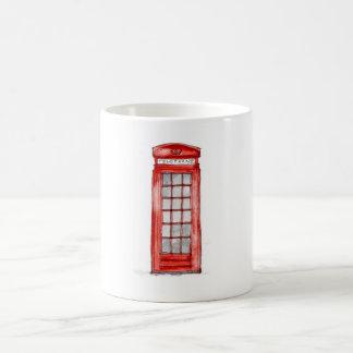 ロンドンの電話マグ コーヒーマグカップ
