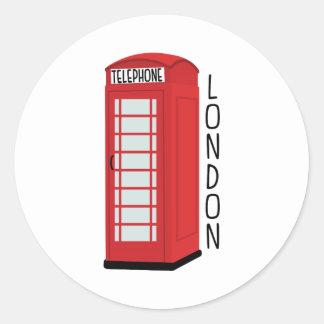 ロンドンの電話 ラウンドシール
