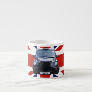 ロンドンの黒いタクシー エスプレッソカップ