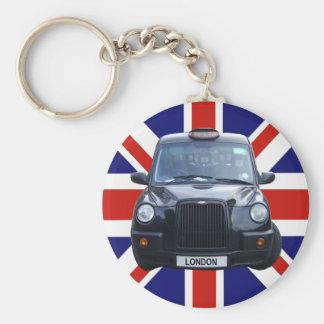 ロンドンの黒いタクシー キーホルダー