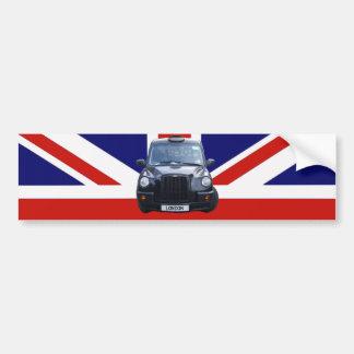 ロンドンの黒いタクシー バンパーステッカー
