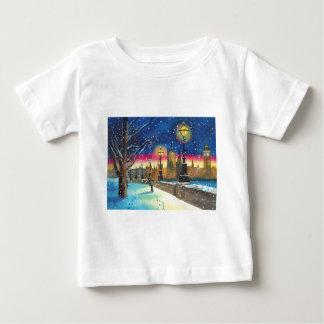 ロンドンのlamplighterのテムズゴードンブルースの芸術 ベビーTシャツ