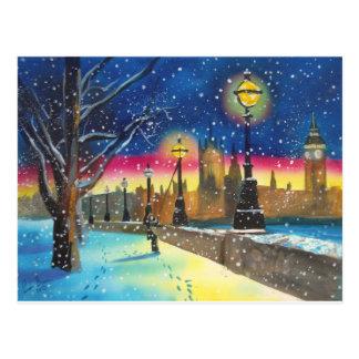 ロンドンのlamplighterのテムズゴードンブルースの芸術 ポストカード