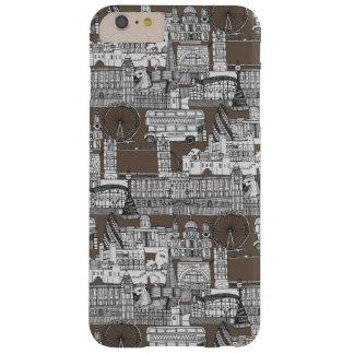 ロンドンのtoileモカ barely there iPhone 6 plus ケース