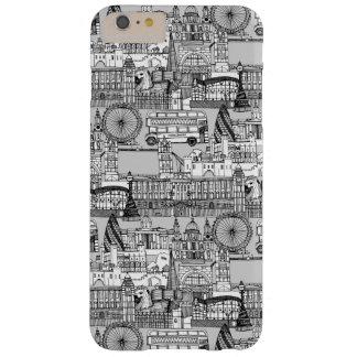 ロンドンのtoile白黒 barely there iPhone 6 plus ケース