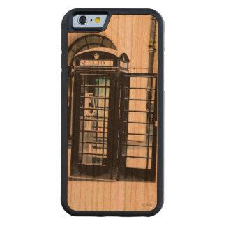 ロンドンは呼んでいます CarvedチェリーiPhone 6バンパーケース