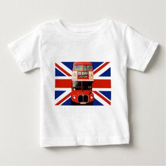 ロンドンイギリスからの幼児の記念品のTシャツ ベビーTシャツ