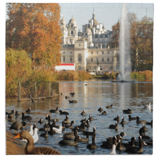 ロンドンイギリスの公園 ナプキンクロス