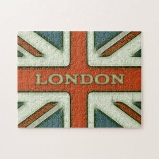 ロンドンイギリスの旗 ジグソーパズル