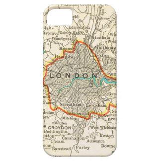 ロンドンイギリスのiPhone 5の場合のヴィンテージの地図 iPhone SE/5/5s ケース