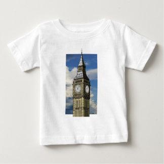 ロンドンイギリスビッグベンの芸術 ベビーTシャツ