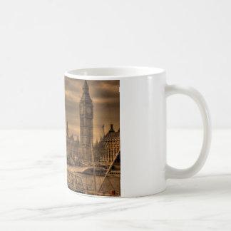 ロンドンウエストミンスター宮殿及びビッグベン コーヒーマグカップ