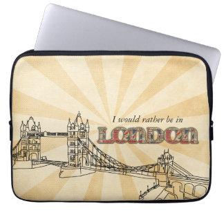 ロンドンタワー橋ラップトップスリーブ ラップトップスリーブ