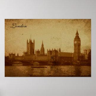 ロンドンテムズ ポスター
