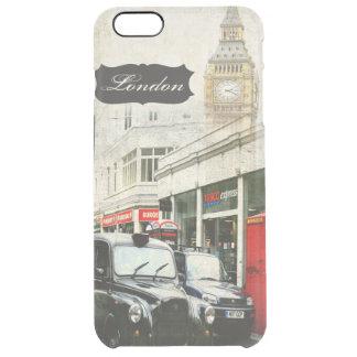 ロンドンデザイナー例 クリア iPhone 6 PLUSケース