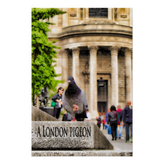 ロンドンハト ポスター