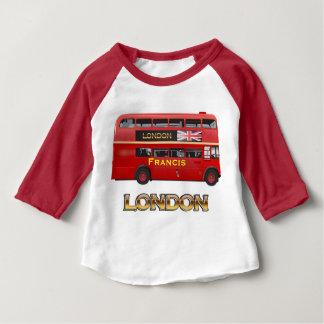 ロンドンバス ベビーTシャツ