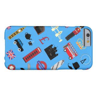 ロンドンパターン(の模様が)あるなSmartphone及びタブレットの場合 Barely There iPhone 6 ケース