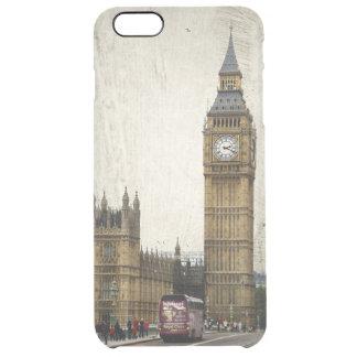 ロンドンビッグベンおよびバス クリア iPhone 6 PLUSケース