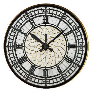 ロンドンビッグベンの文字盤 ラージ壁時計