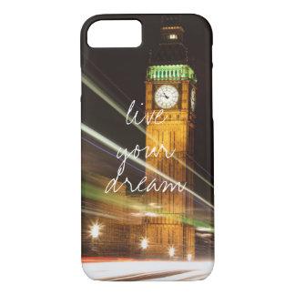 ロンドンビッグベンはあなたの夢のwanderlust旅行住んでいます iPhone 8/7ケース