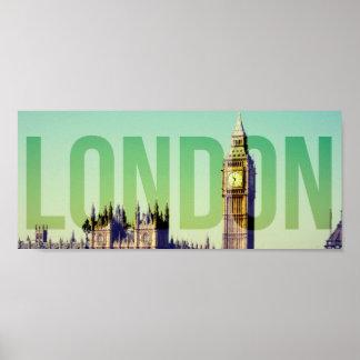 ロンドンビッグベンポスター ポスター