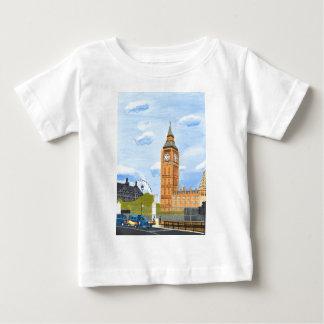 ロンドンビッグベン ベビーTシャツ