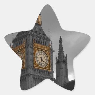 ロンドンビッグベン 星シール