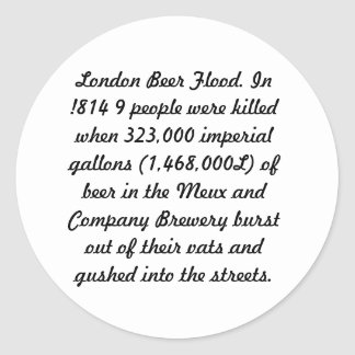ロンドンビール洪水 ラウンドシール