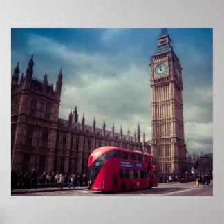 ロンドンポスター ポスター
