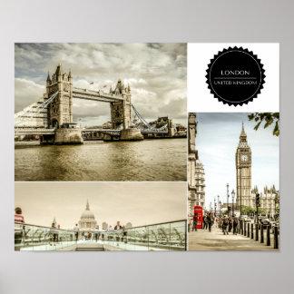 ロンドンモダンなポスター ポスター