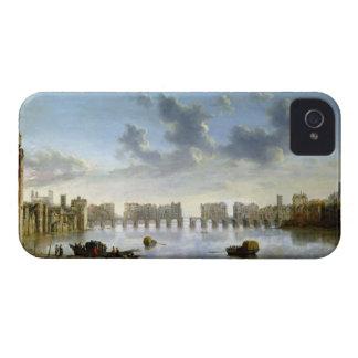 ロンドン古い橋(油)、c.1630 Case-Mate iPhone 4 ケース