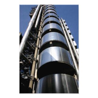 ロンドン市のLloydsの建物 フォトプリント