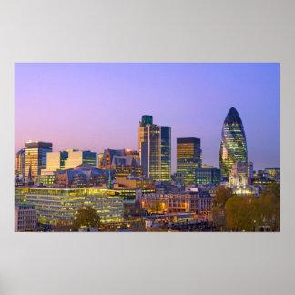ロンドン市 ポスター